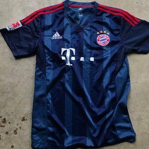Adidas Bayern Munich men's soccer jersey